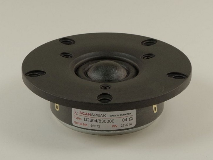 """ScanSpeak - Discovery - D2604/830000 - 1"""" (25mm) Gewebekalotte, 4 Ohm"""