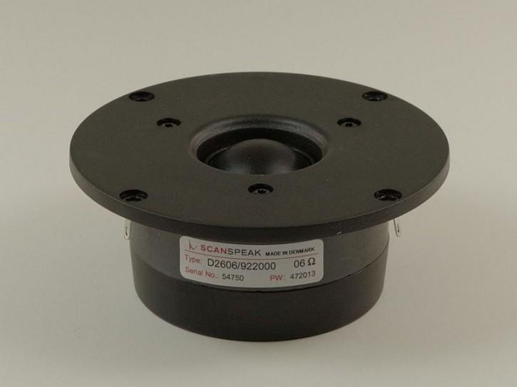 """ScanSpeak - Discovery - D2606/922000 - 1"""" (25mm) Gewebekalotte,  6 Ohm"""